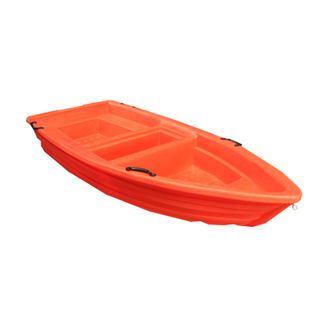 Reinforce Double Plastic Fishing Boat for Water Work and Tourism